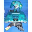 Nintendo 64 clear blue